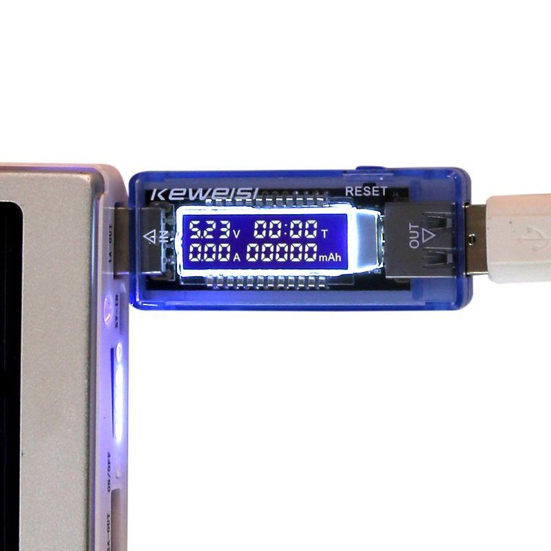 USB Charger Doctor Mobile Power Detector Battery Test Voltage Current Meter 1pc