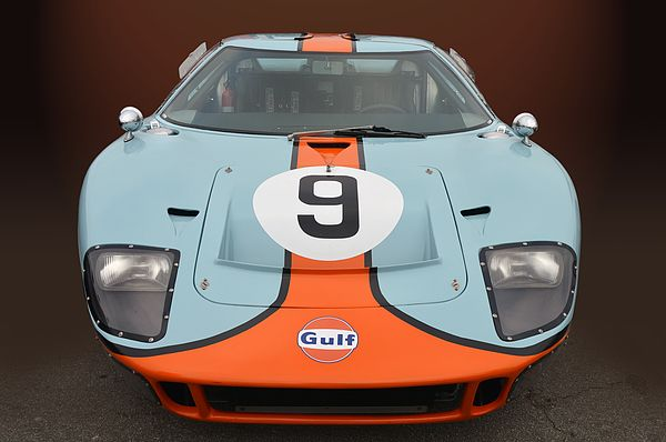 Ford Gt 40 In Gulf Racing Livery Spotted At Cars Coffee Costa