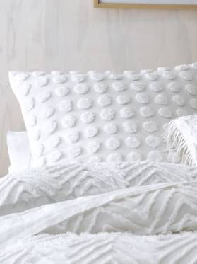 Fog Double Quilt Cover Sets White Master Bed Quilt