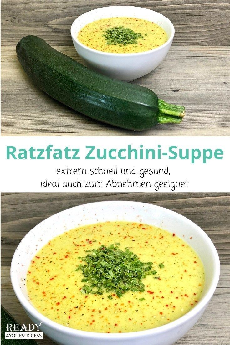Ratzfatz ZucchiniSuppe Ratzfatz ZucchiniSuppe