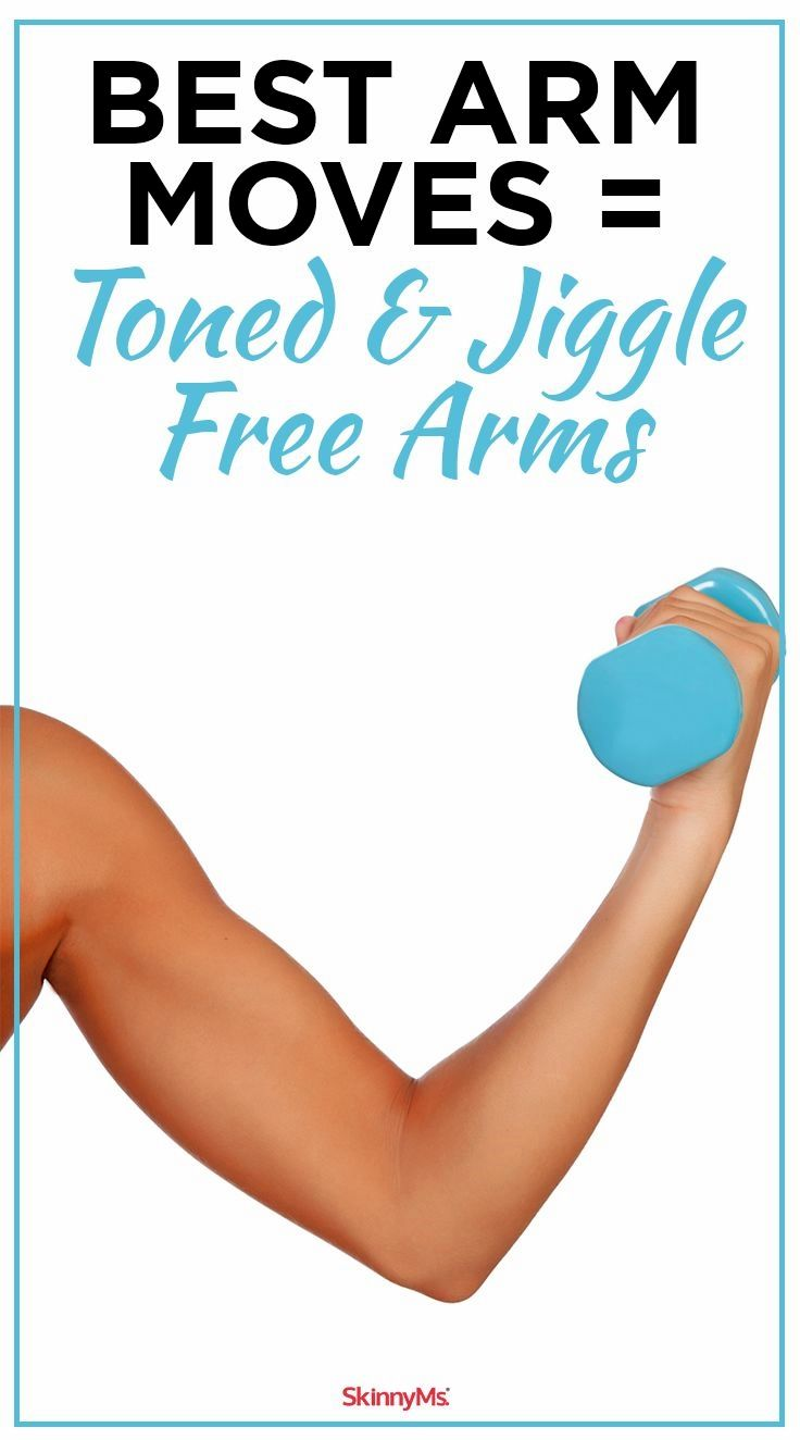 Best moves to get toned and jiggle free arms good arm