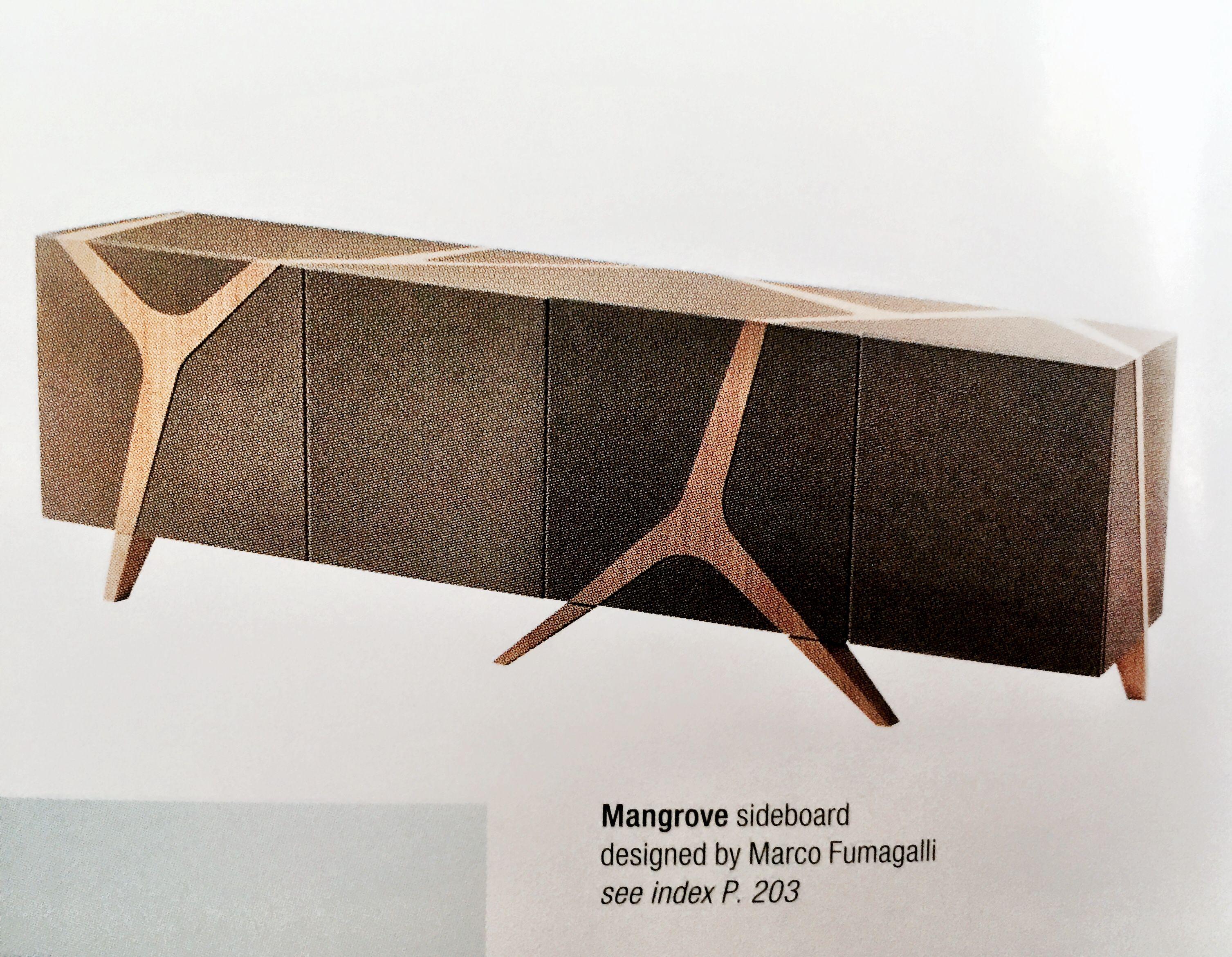 Mangrove sideboard Roche Bobois 2016 déco mode