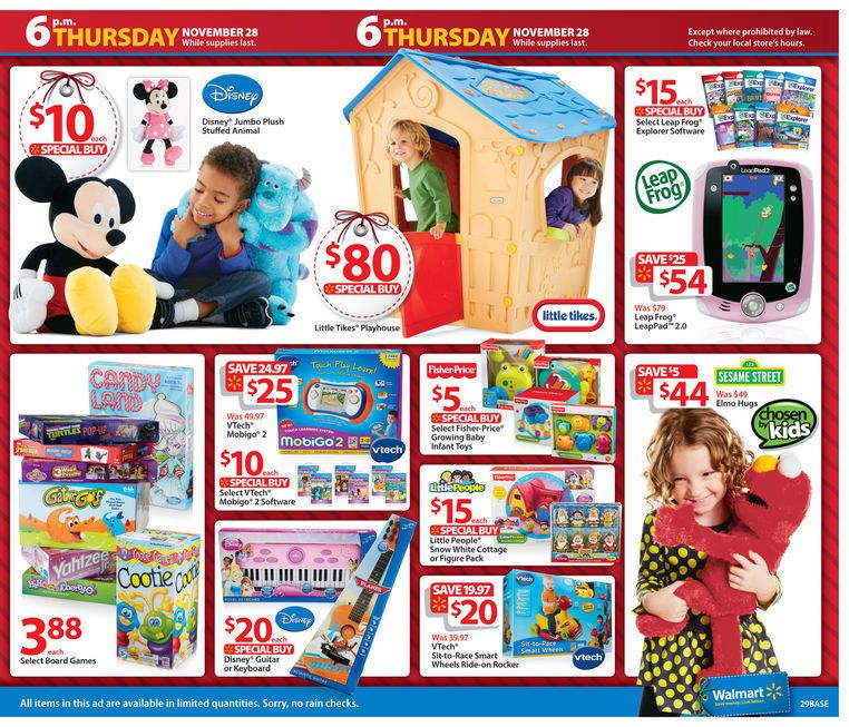 Walmart Black Friday 2013 Ad Page 29 Ad | Santa's Shopping List ...