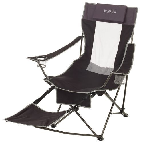Magellan Outdoors Footrest Chair Folding Chair Outdoor Chairs Chair