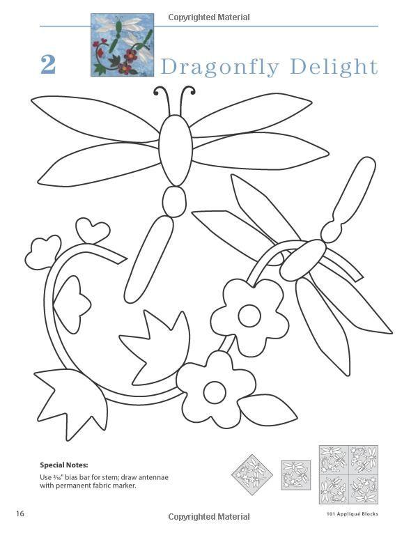 Amazon.com: 101 Applique Blocks (9781592173136): Nancy Brenan Daniel ...