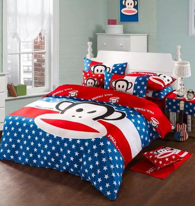 Paul Frank Bedroom In A Box: Paul Frank Bedding Cool Duvet Covers