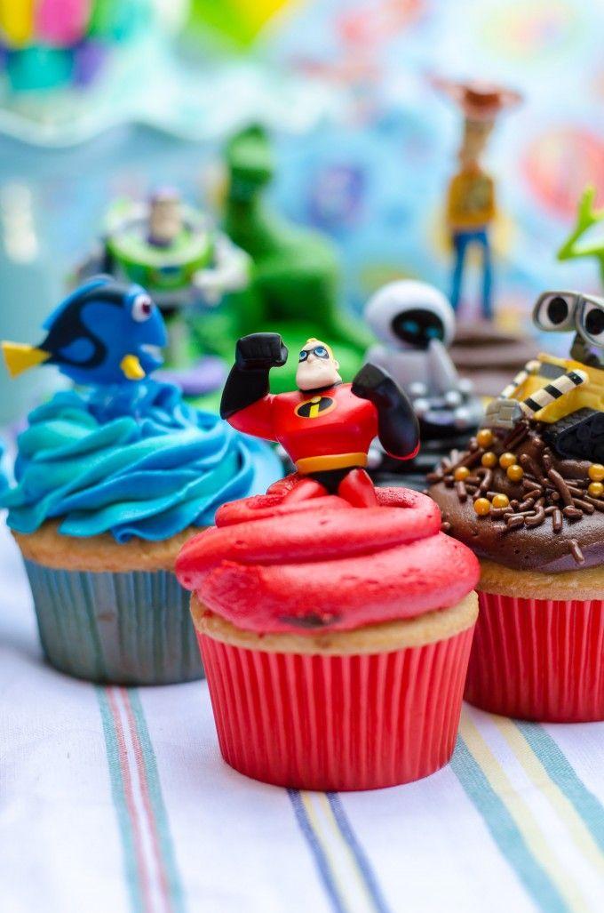 A Pixar Birthday Party Cakes And Cupcakes Go Go Go Gourmet