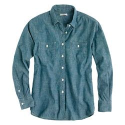 J. Crew Selvedge chambray shirt ***