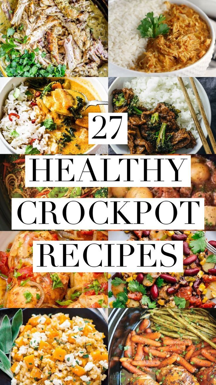 27 Healthy Crockpot Recipes – Captain Decor