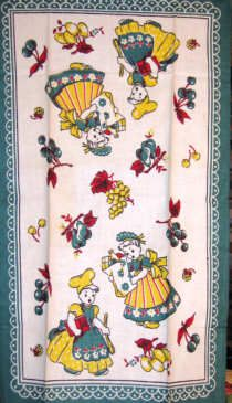 Adorable Tea Towel