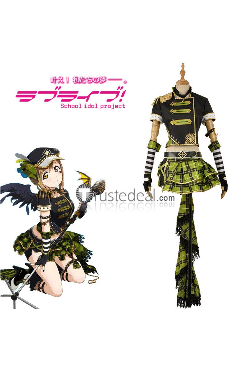 Lovelive Sunshine Aqours Punk Rock Awakening Yoshiko Ruby Chika