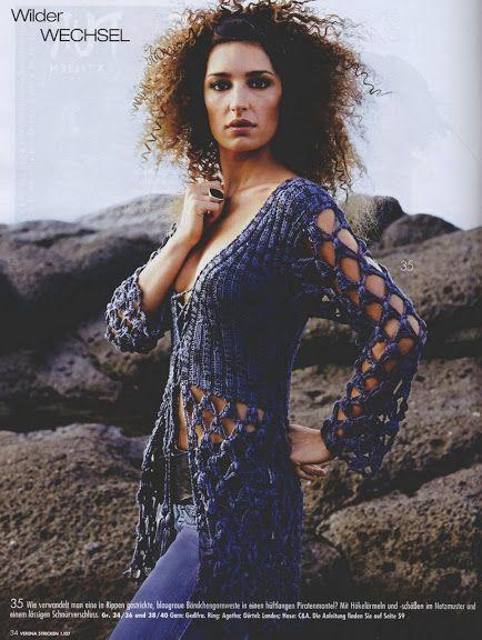 Irish crochet &: dress