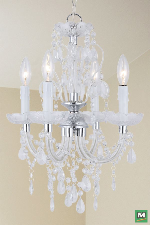 Patriot Lighting Marlene Chandelier With Chrome Finish And