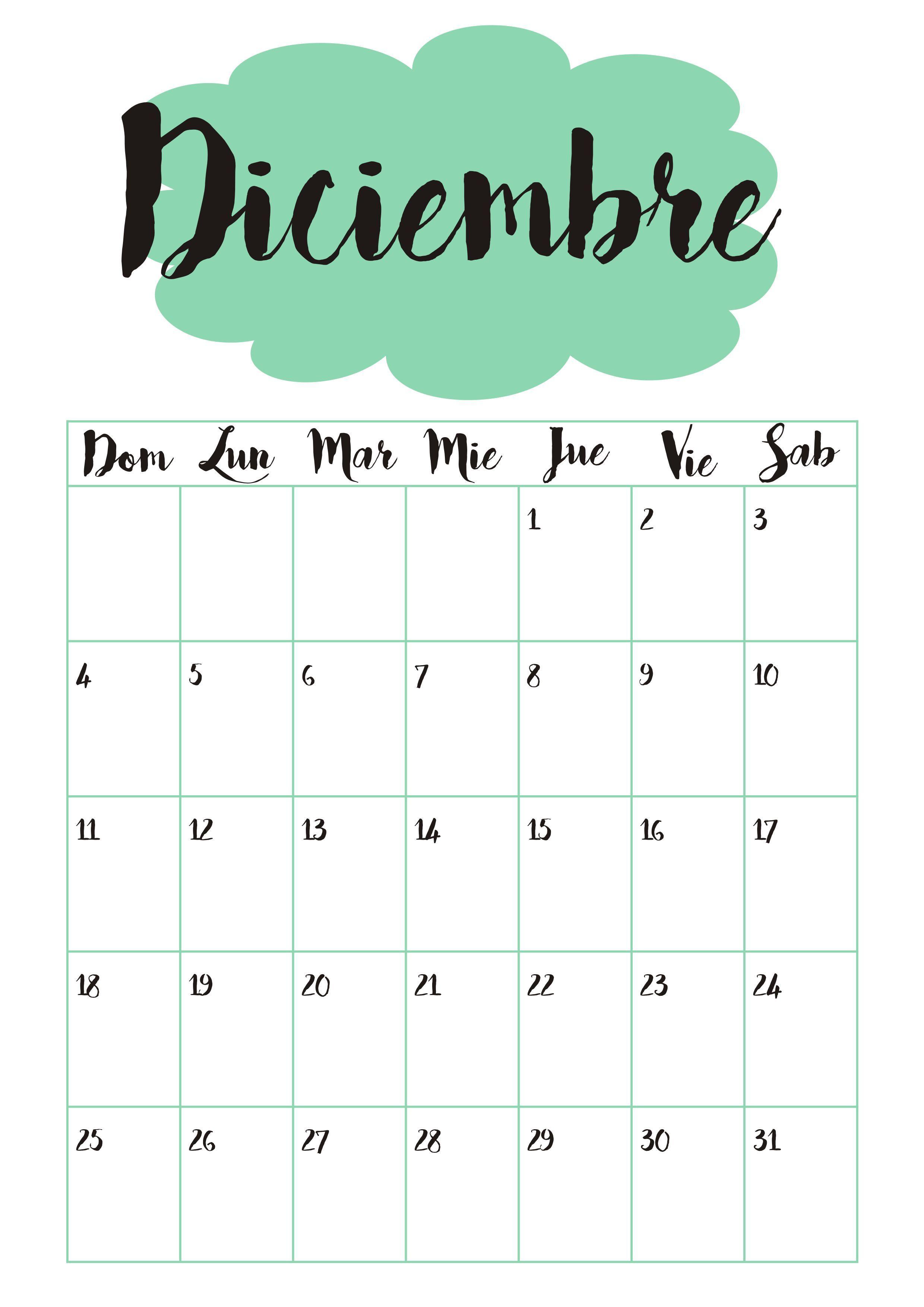 Calendario Dibujo Septiembre.Calendario 12 Diciembre Dibujo Ideas De Calendario