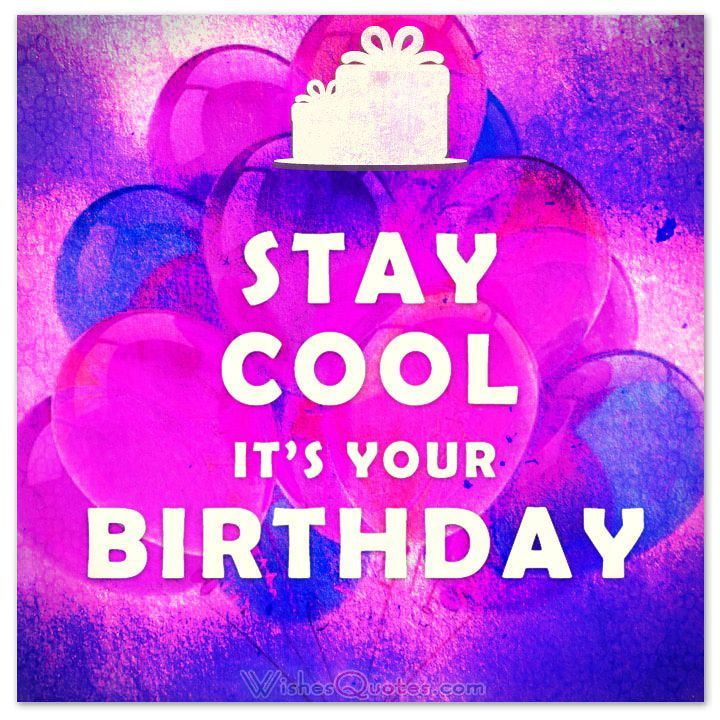 Cool Birthday Messages By Happy birthday status