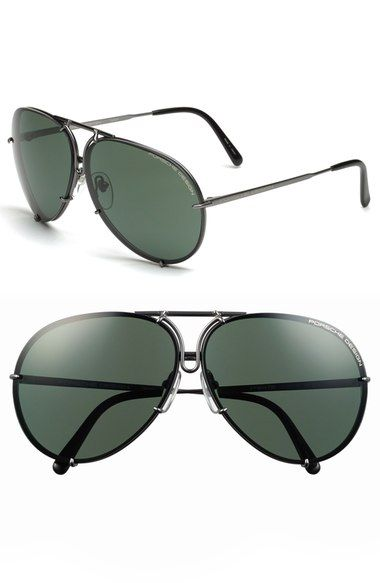 a66ac6e26344 Porsche Design  P8478  66mm Aviator Sunglasses available at  Nordstrom