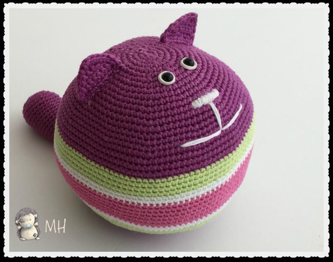 Patón GRATIS: gato redondo amigurumi #patronGRATIS #amigurumi ...
