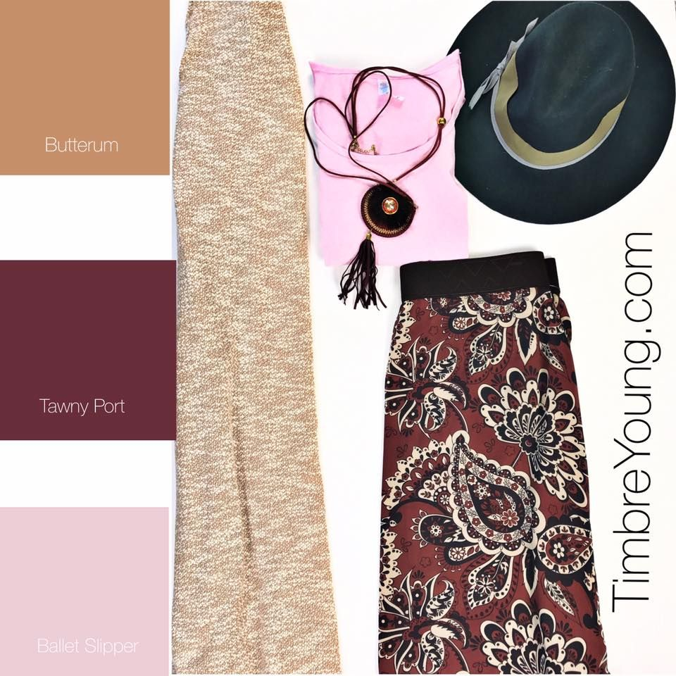 Pantone Outfit 4 Large Lynnae Large Lularoe Joy Xl Lularoe Lola Pantone Colors Tawny Port Butterum Ballet Slipper Shaded Spruce