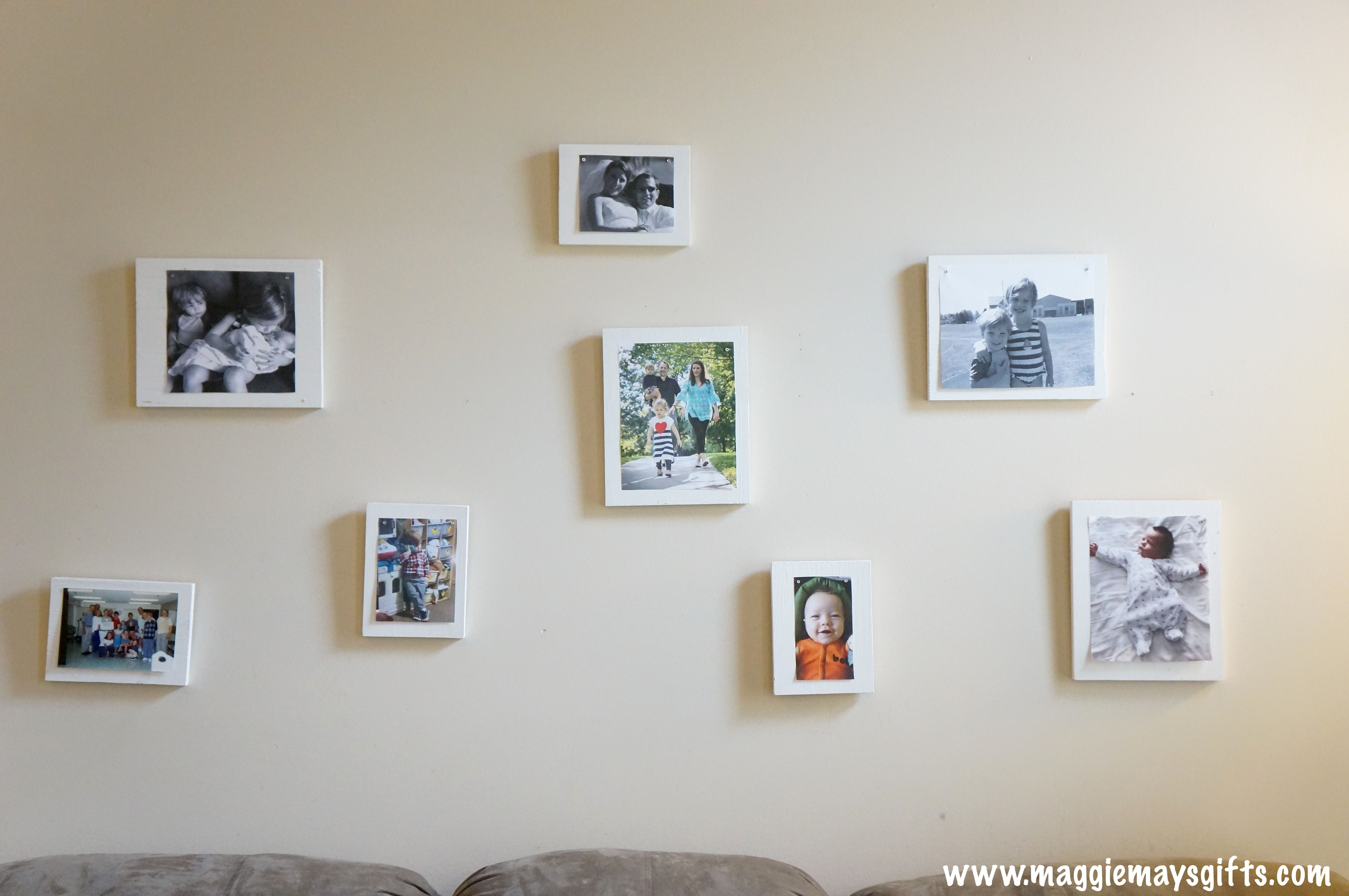 Make Your Own Frames And Arrange a Wall Collage | DECORATE ME ...