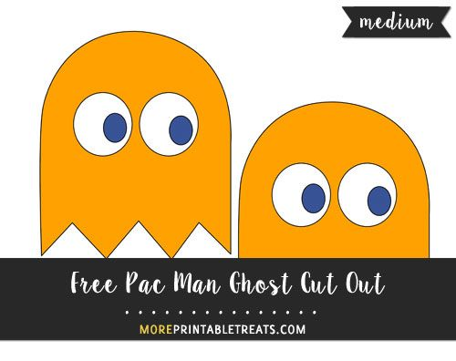 picture about Pac Man Printable called Pin upon Totally free Printable Lower Outs