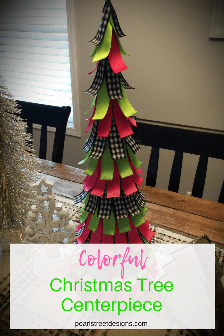 Easy DIY Christmas tree decor for anywhere