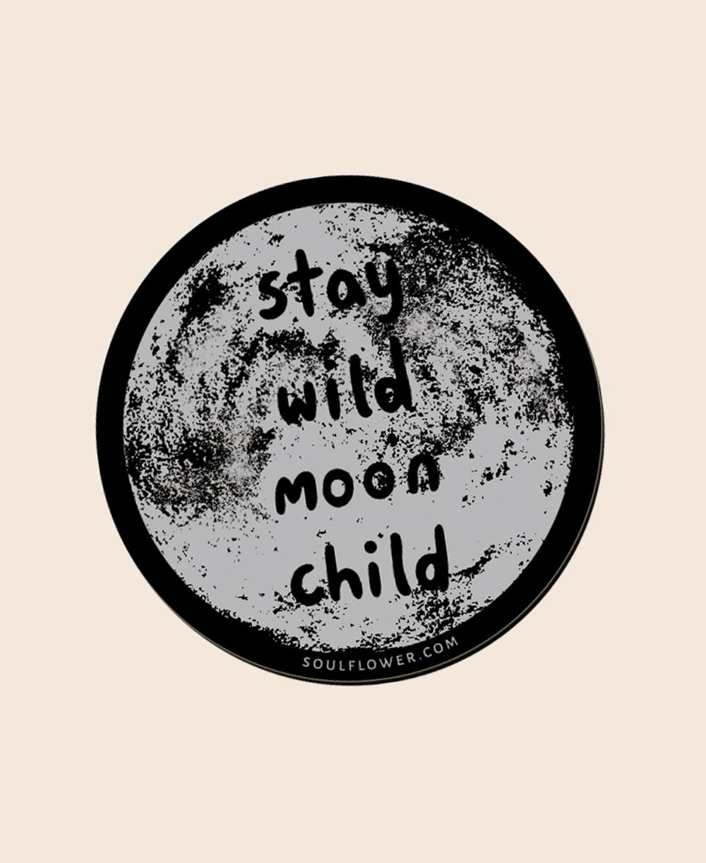 Stay Wild Moon Child Magnet Stay Wild Moon Child Wild Moon Hippie Sticker [ 1222 x 1000 Pixel ]