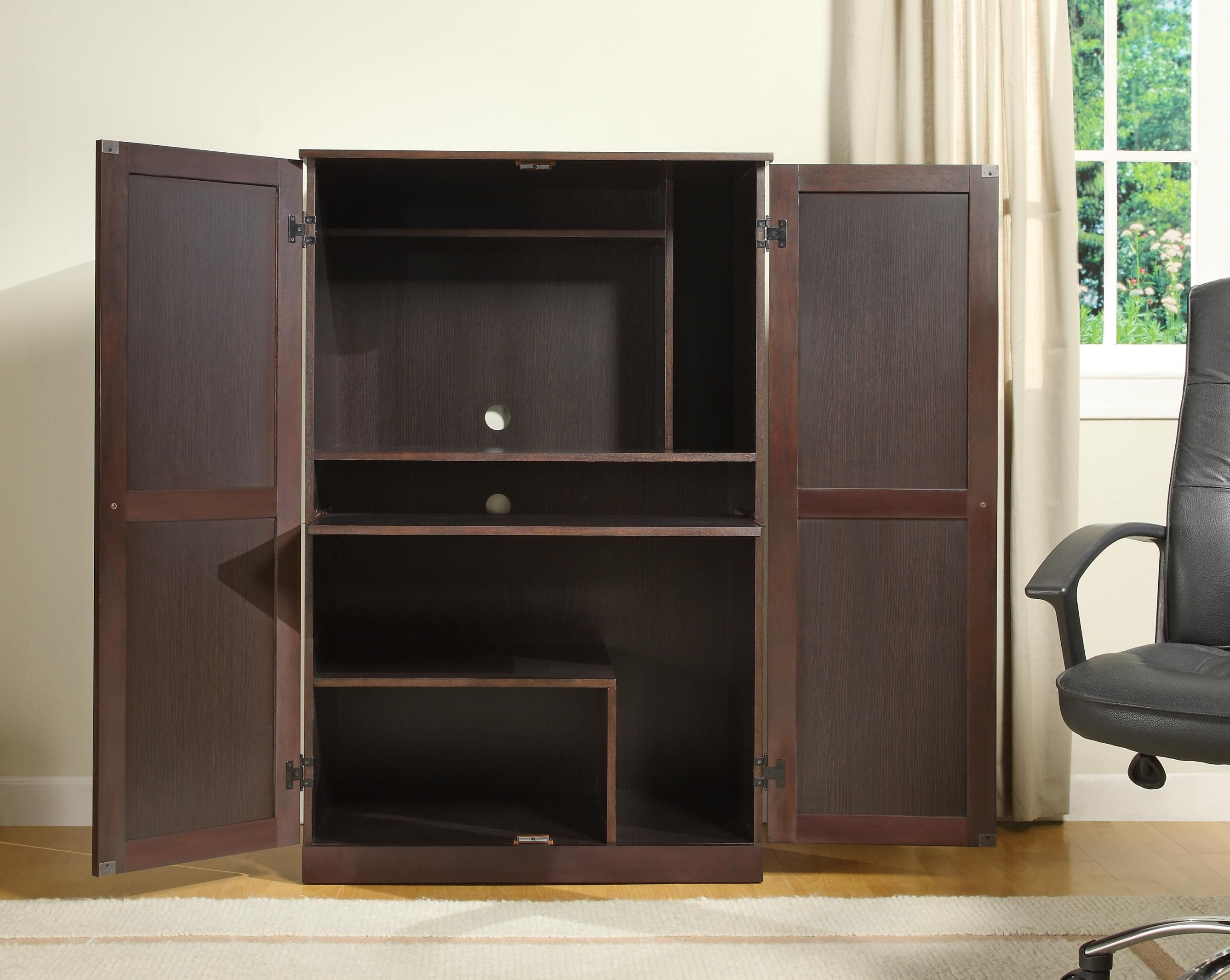 best small computer ideas of furniture uncategorized photo cabinets styles and marvelous the desk armoire image