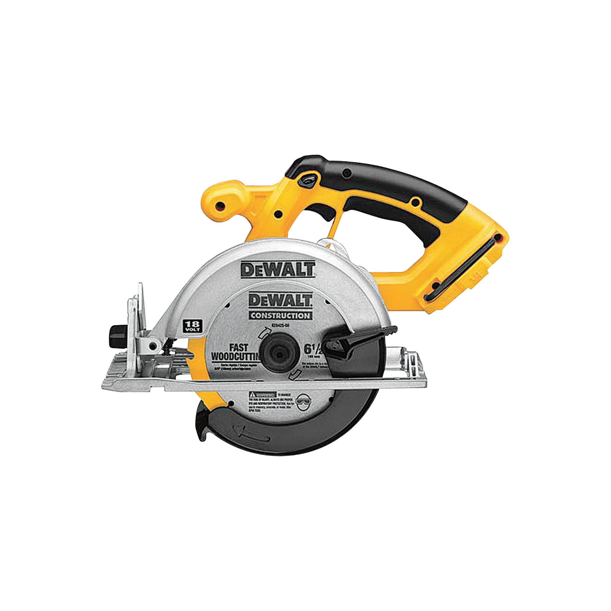 DEWALT Cordless Circular Saw — Tool Only, 18V, 6 1/2in. Blade ...