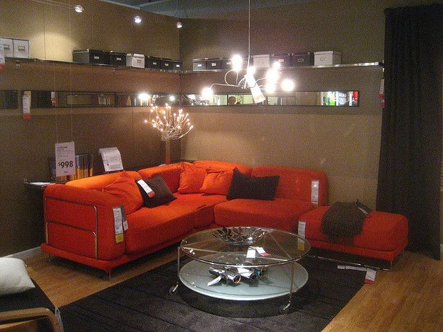 ikea living room  cool lights  sala de juegos