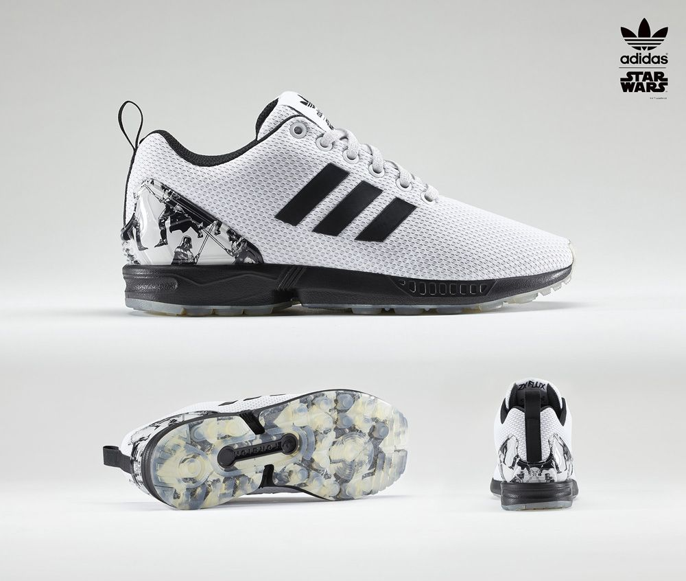 online retailer 2c646 9e43f Star Wars adidas Sneakers ZX Flux   Sole Collector