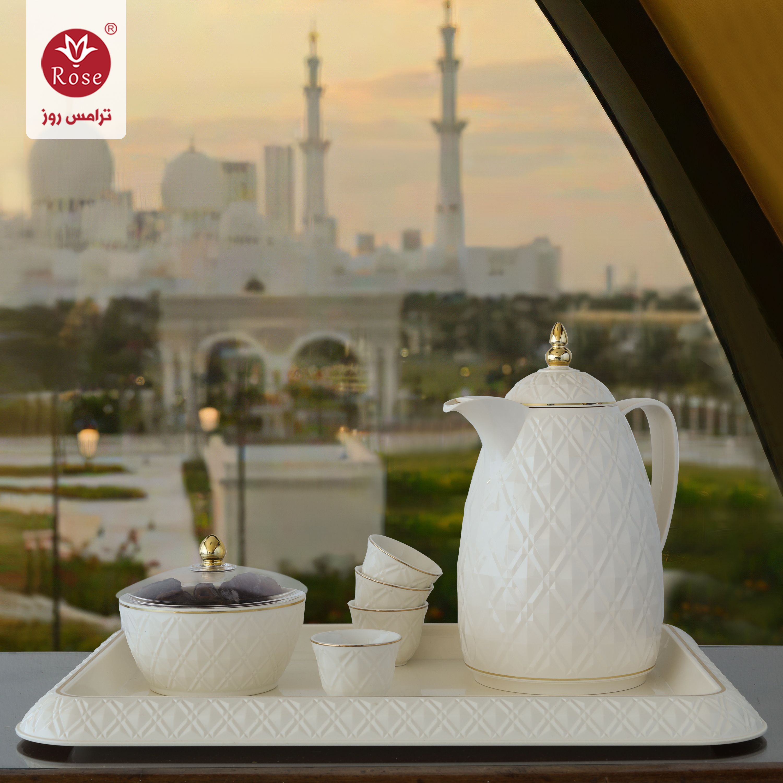 ترامس روز الأصلية الاختيار الأول لعشاق الرقي والفخامة The Original Rose Thermos Is The First Choice For Elegan Table Decorations Decor Home Decor