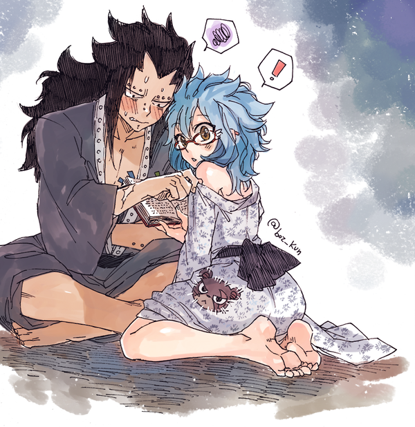Gajevy by Rboz (Rusky Boz) | Gajeel & Levy Pics | Gale fairy tail