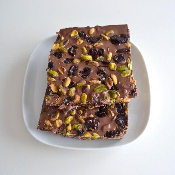 Gourmet Chocolate Nut Candy Milk Chocolate by NicolesTreats, $11.00