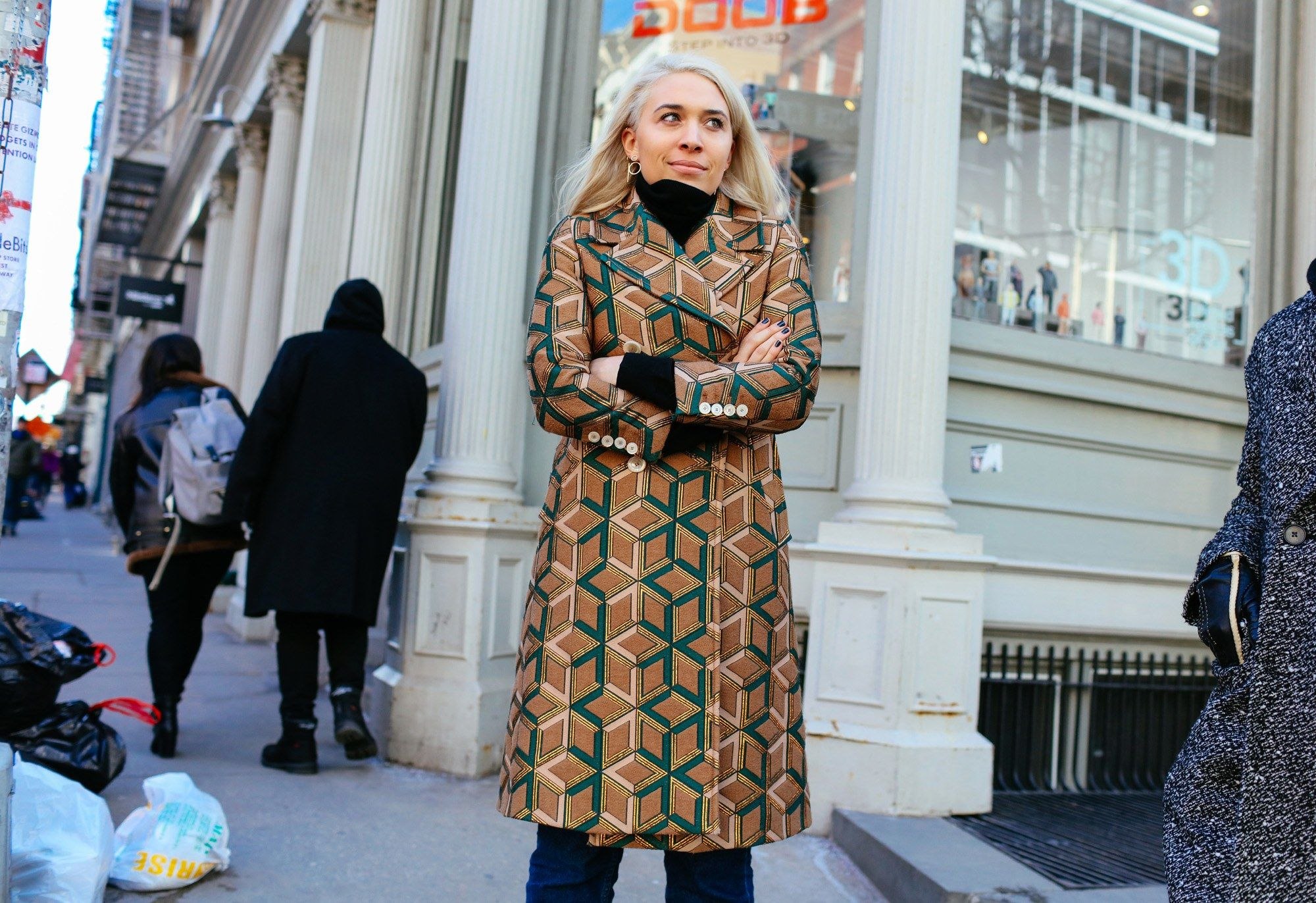 A Gucci coat