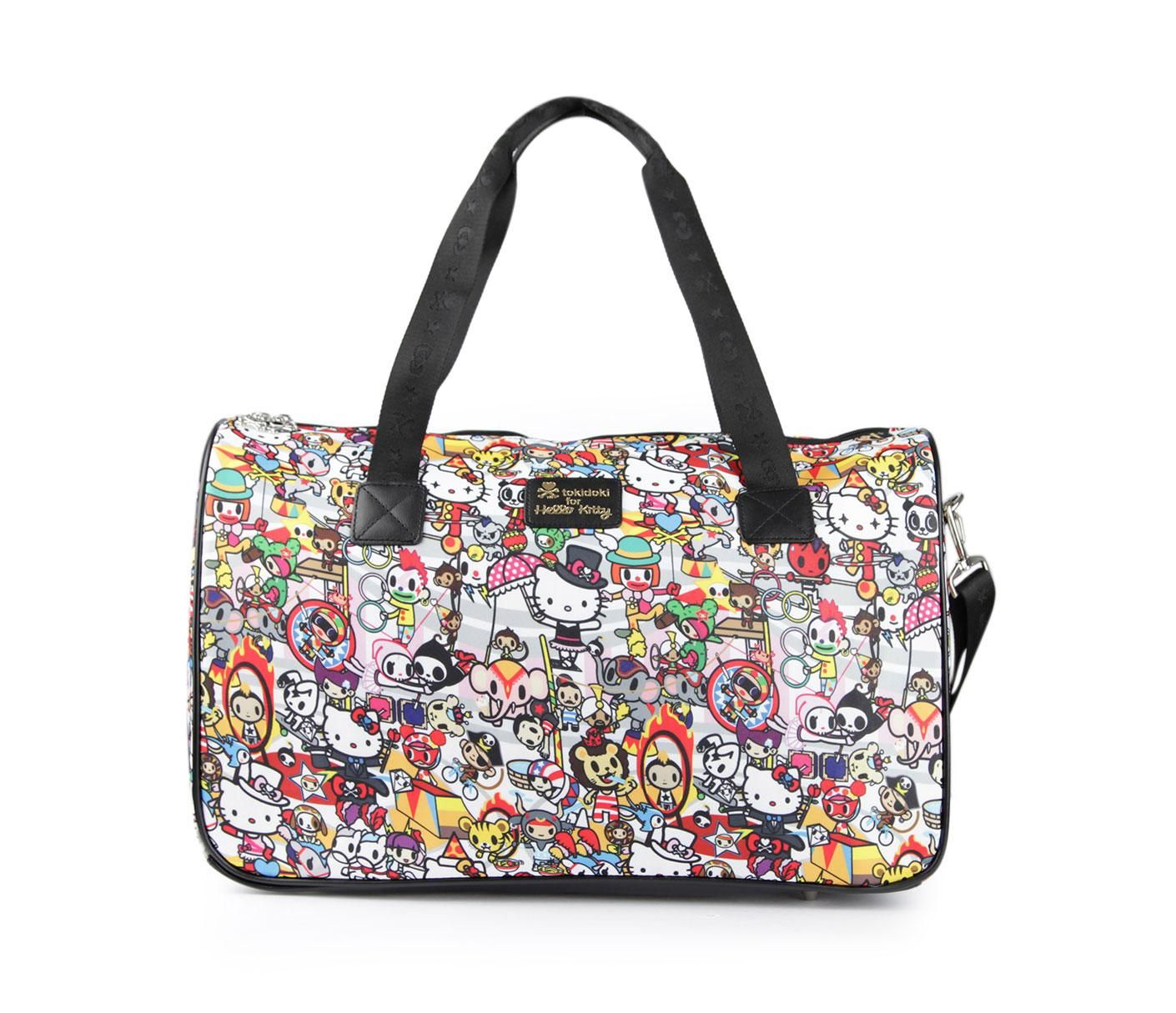 tokidoki x Hello Kitty Overnight Bag  Circus Collection  a2e1bb6428366