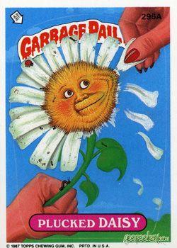 Geepeekay Com Original Series 8 Gallery Garbage Pail Kids Garbage Pail Kids Cards Garbage