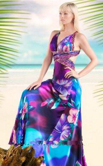 Tropical Wedding Dresses 1