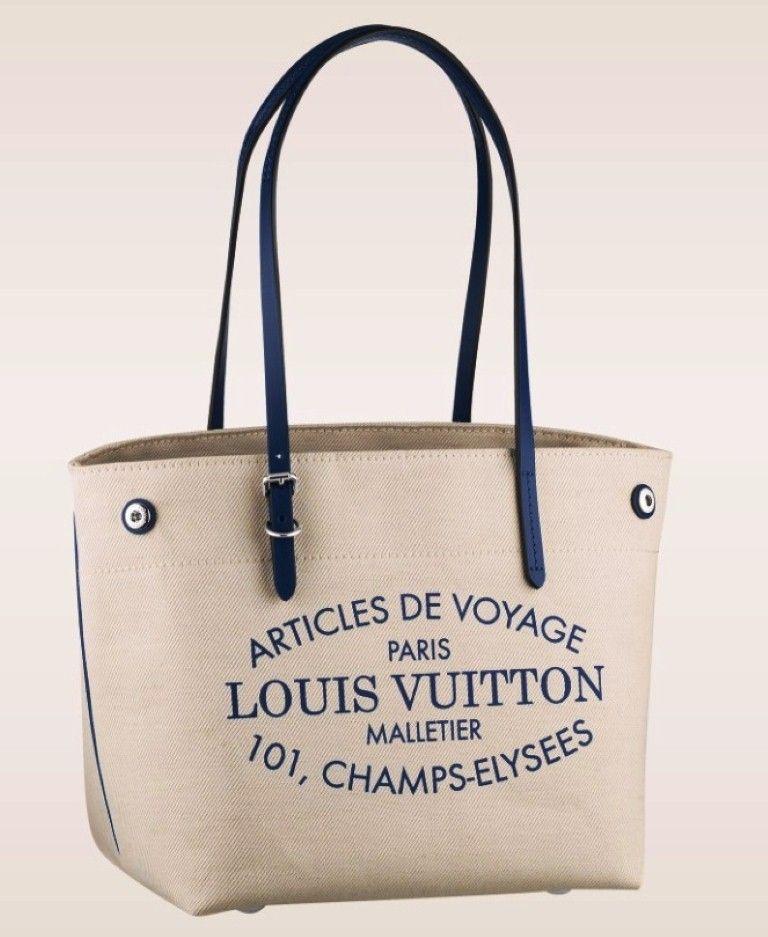 74190cae229 Louis Vuitton Articles de Voyage Canvas Bag and Shoe