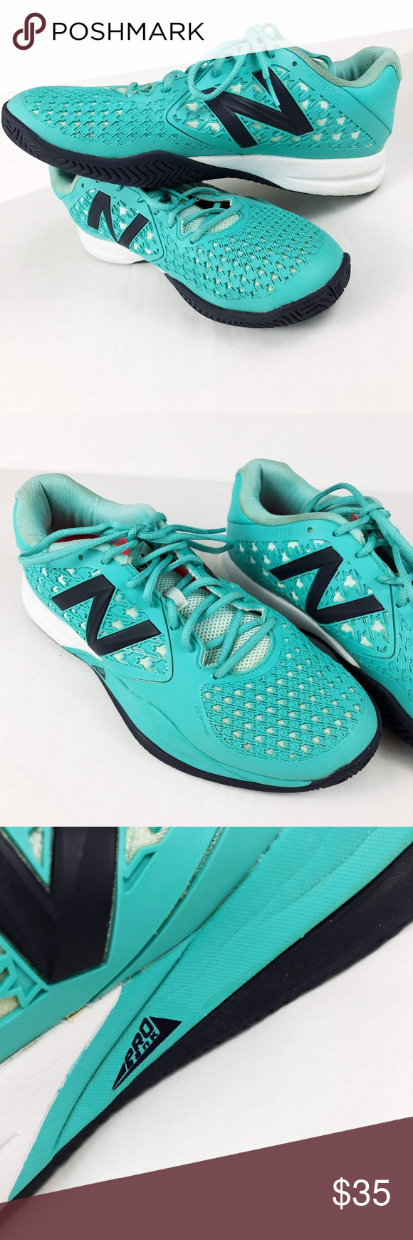 huge discount e396e bbe6d New Balance Turquoise #NB10S Revlite 996 Sneakers New ...