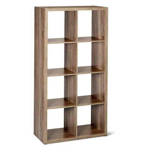 13 8 Cube Organizer Shelf Weathered Gray Threshold 8 Cube