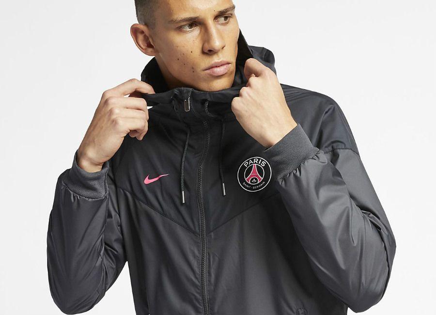 usa cheap sale cute cheap 100% quality Nike Paris Saint-Germain Windrunner - Anthracite / Black ...