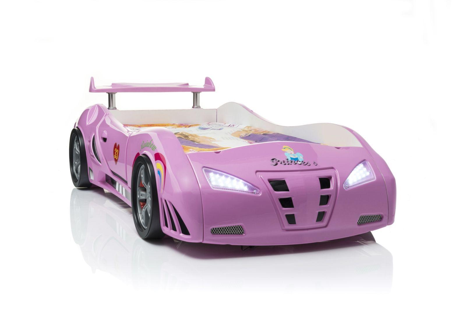 Kinderbett auto mädchen  Kinderbett Princess in Pink - das Autobett für Mädchen! | Schöne ...