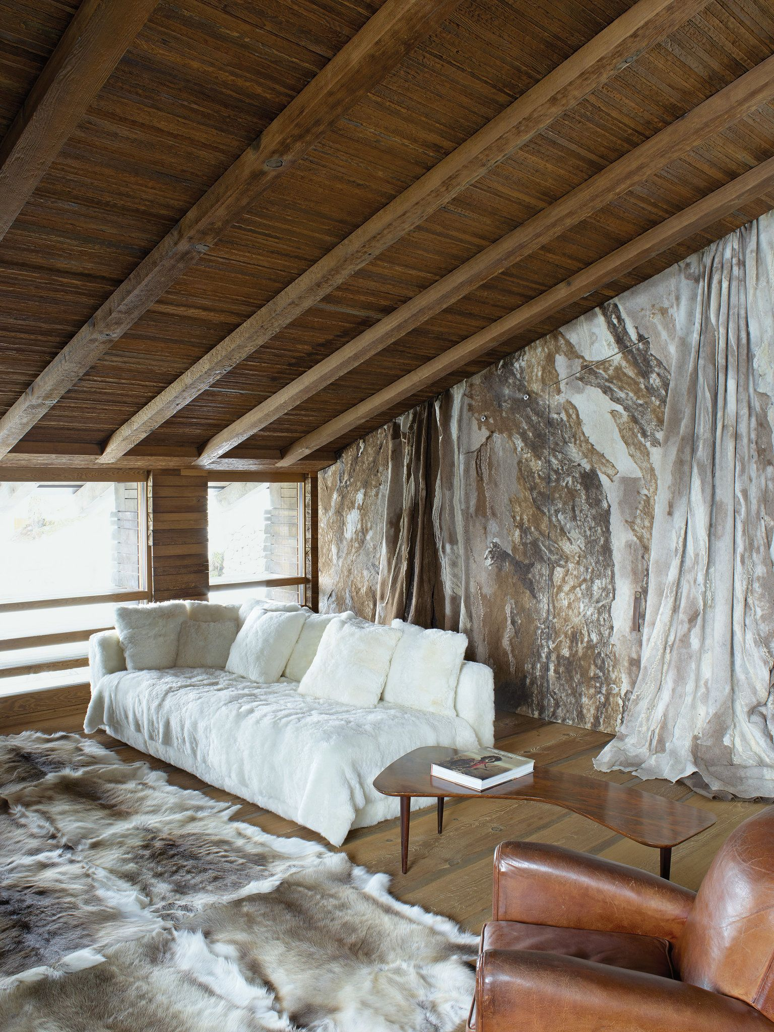 Modern Day Bedrooms Thomas Flohrs Fortress In St Moritz Bedrooms Reindeer And New