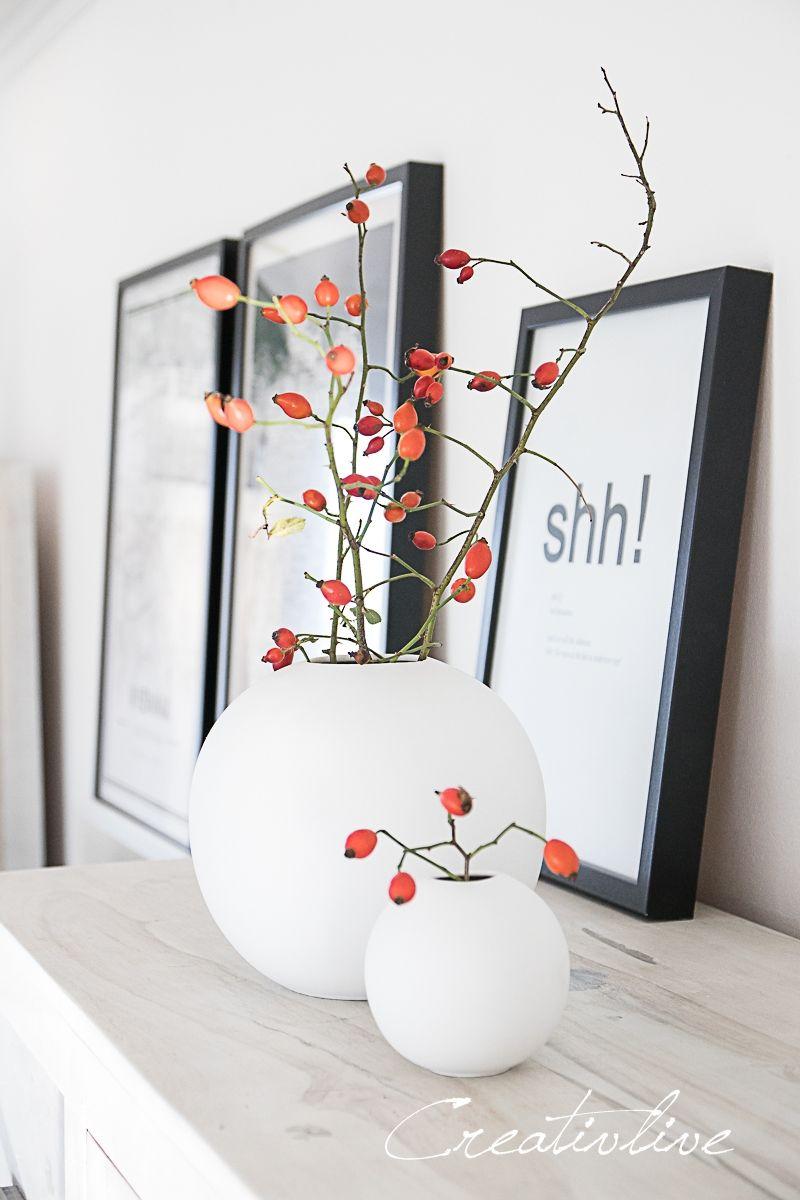 Minimalistische Herbstdeko – CreativLIVE