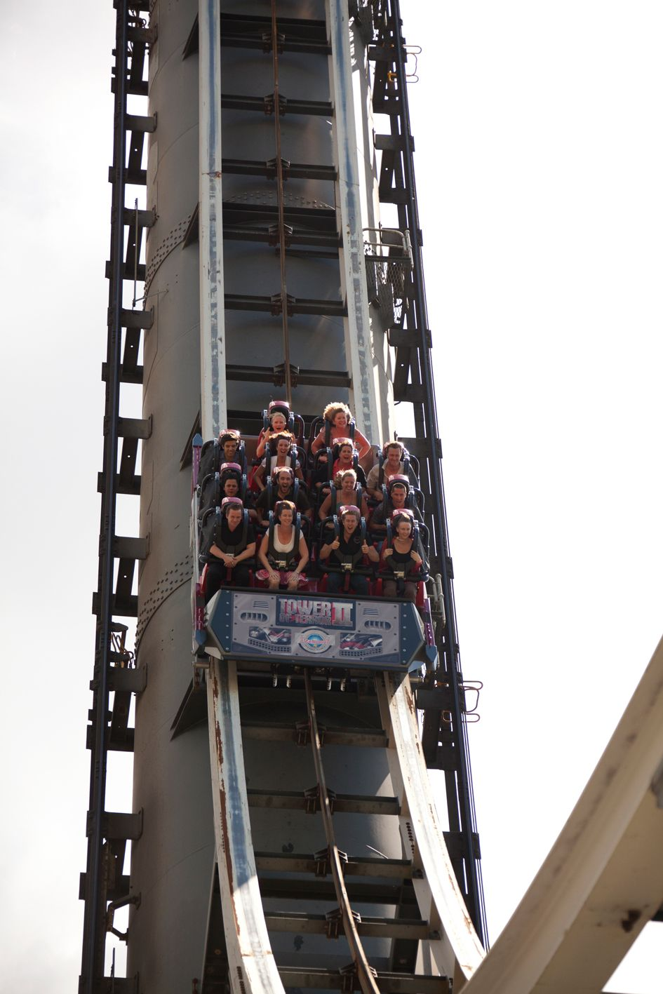 Tower Of Terror Ii At Dreamworld Theme Park Roller Coaster Whitewater World