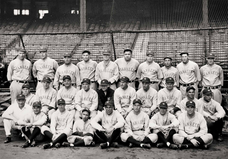 Vintage New York Yankees Photo Print Poster Babe Ruth Ny Etsy New York Yankees Babe Ruth Photo Print Poster