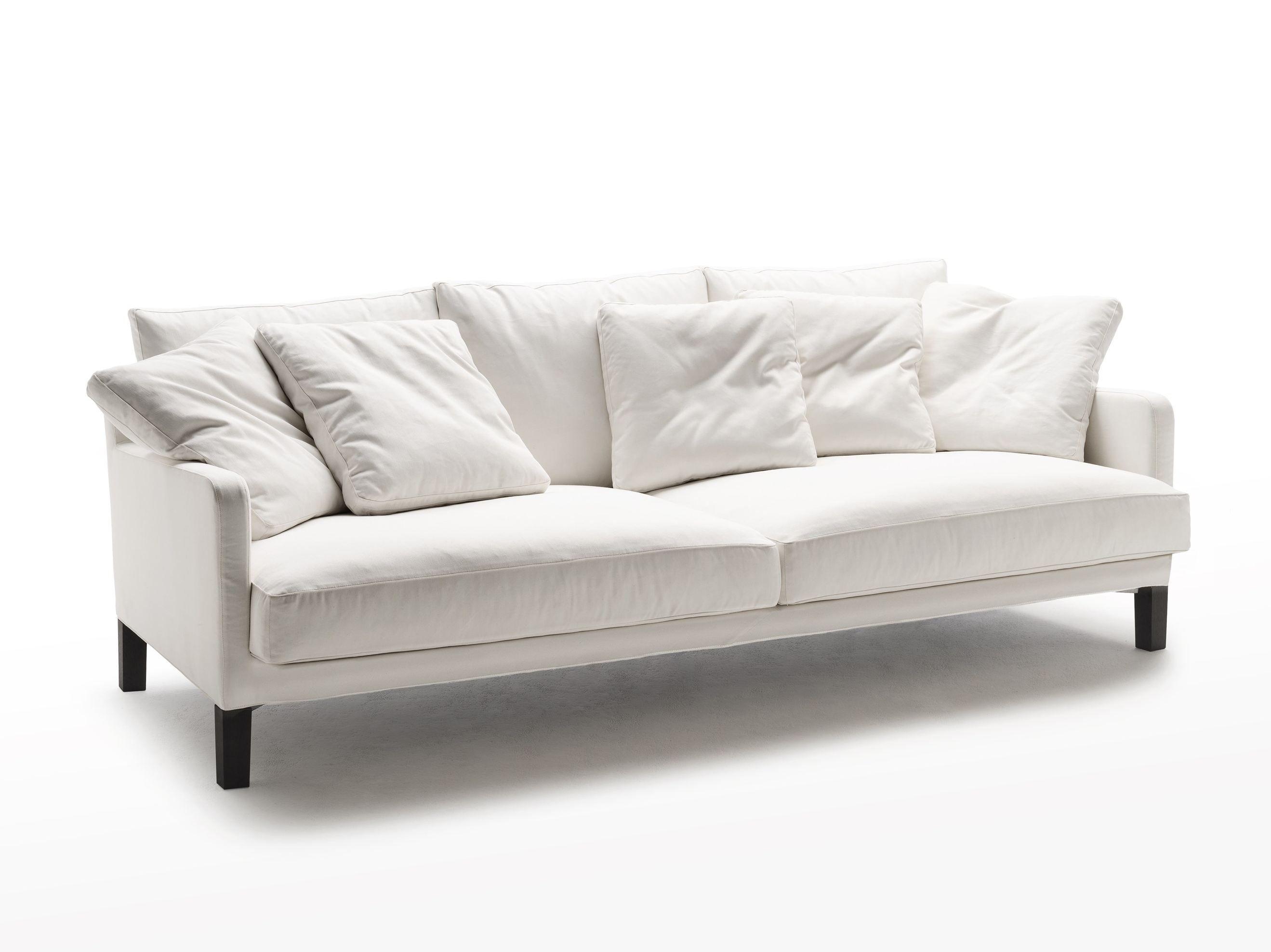 Canapé en tissu avec revêtement amovible DUMAS by Living Divani design Piero…