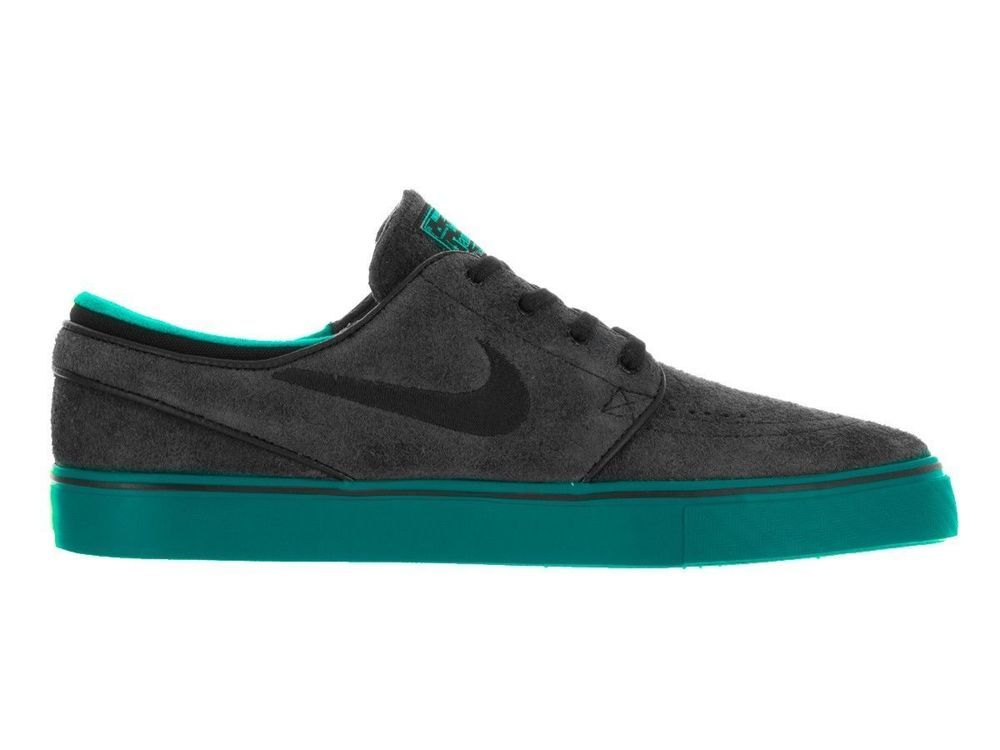 Nike SB Zoom Stefan Janoski Mens Skate Shoes 10 Black Rio Teal Jade 333824  053   9b403879087d