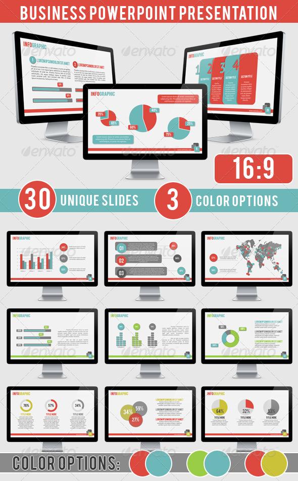 business presentation graphicriver features 30 unique slides 3
