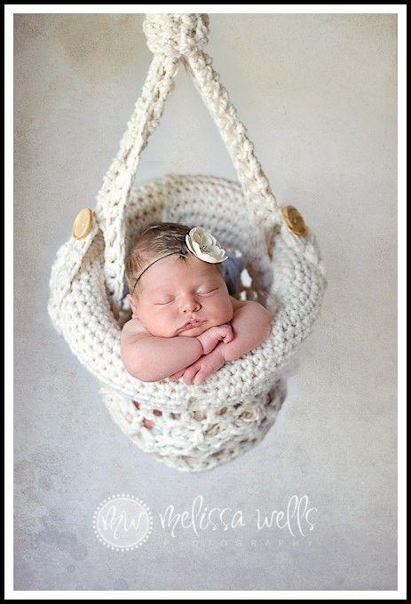 Canasta de julieta | Macrame | Pinterest | Canastilla, Crochet bebe ...